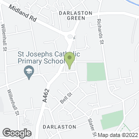Map of DPB Painter & Decorator in Darlaston, Wednesbury, west midlands