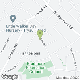 Map of Aardvark Environmental Services Pest Control in Bradmore, Wolverhampton, west midlands