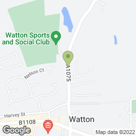 Map of Wayland Plumbing & Heating Services in Watton, Thetford, norfolk