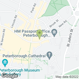 Map of Royal Bank of Scotland in Peterborough, cambridgeshire