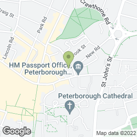 Map of MD Coffee in Peterborough