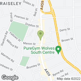 Map of Brewers Sewing Machines in Wolverhampton, west midlands