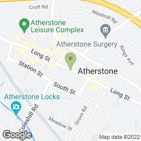 Map of Thorough Goods in Atherstone, warwickshire