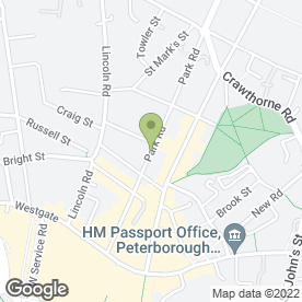 Map of Futter Chapman Family Law Solicitors in Peterborough, cambridgeshire