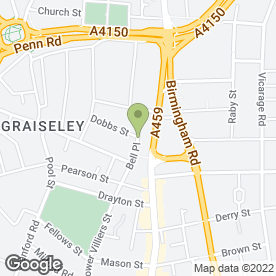 Map of Dark Circle Martial Arts Ltd in Wolverhampton, west midlands