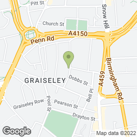 Map of Premier Joinery Services Ltd in Wolverhampton, west midlands