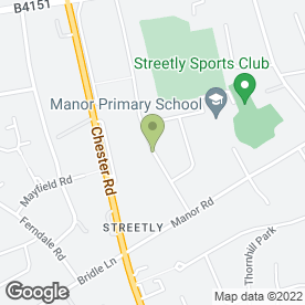 Map of Printline in Streetly, Sutton Coldfield, west midlands