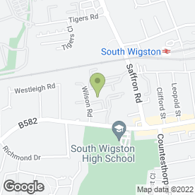Map of Able Self Storage in Wigston, leicestershire