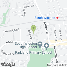 Map of Superstore Self Storage in South Wigston, leicestershire