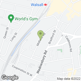 Map of JUST RENAULTS in Walsall, west midlands