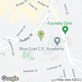 Map of GSL Martial Arts in Walsall, west midlands