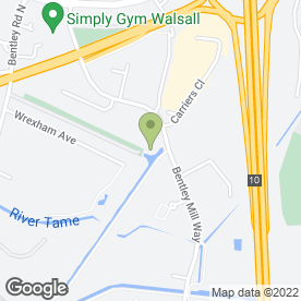 Map of Chiquito Grill & Bar in Walsall, west midlands