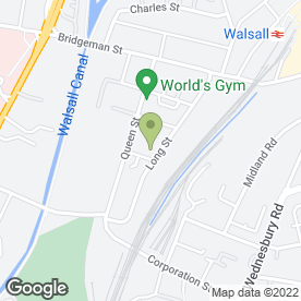 Map of Knowledge Tree (UK) Ltd in Walsall, west midlands