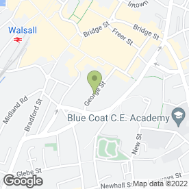 Map of Lussh Hair & Beauty in Walsall, west midlands