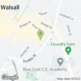 Map of Essence Wine Bar in Walsall, west midlands