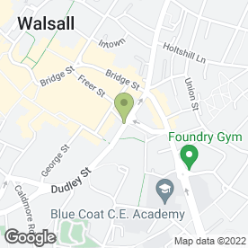 Map of Lyndon House Hotel in Walsall, west midlands