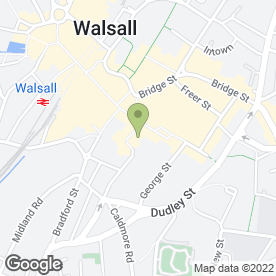 Map of VITO'S HAIR & BEAUTY in Walsall, west midlands
