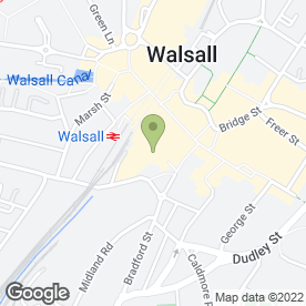 Map of Timpson Locksmith & Safe Engineers in Walsall, west midlands
