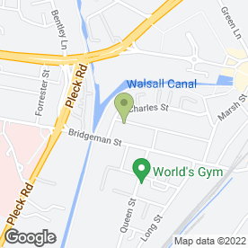 Map of Angels & Sinners in Walsall, west midlands