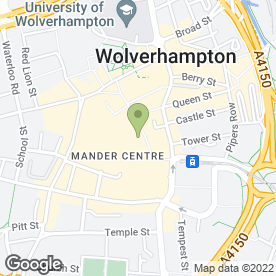 Map of McDonald's Restaurants Ltd in Wolverhampton, west midlands