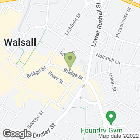 Map of The Pitch Sports Bar & Grill in Walsall, west midlands