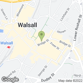 Map of Swinton Car Insurance - Walsall in Walsall, west midlands