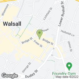 Map of J.F ALLSOPP in Walsall, west midlands