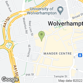 Map of Beatties Department Store in Wolverhampton, west midlands