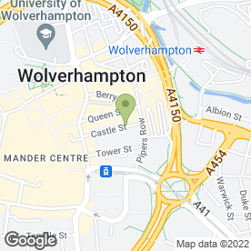 Map of Johnny Spice in Wolverhampton, west midlands