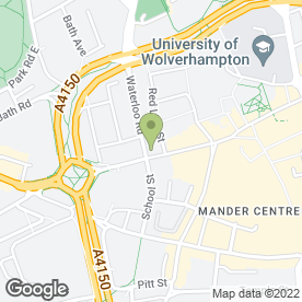 Map of Carpets & Rug Specialists in Wolverhampton, west midlands