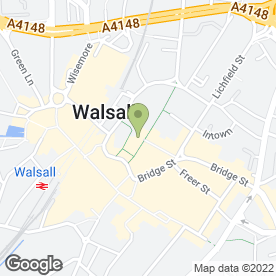 Map of Hi's N Lows in Walsall, west midlands