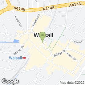 Map of Arden News in Walsall, west midlands