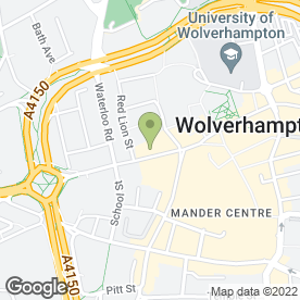 Map of RL Detailing in Wolverhampton, west midlands