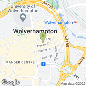 Map of Smoke & Wine Store in Wolverhampton, west midlands
