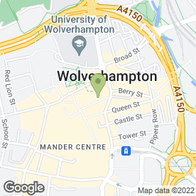Map of Depil-Lase in Wolverhampton, west midlands