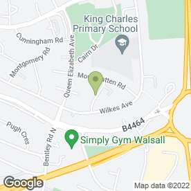 Map of For Weddings in Bentley, Walsall, west midlands