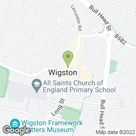 Map of Knightsbridge Estate Agents & Valuers Ltd in Wigston, leicestershire