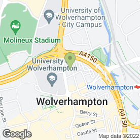 Map of Drs T.M Crossley, A.M Watson, H Richardson, K Mahmood, D Davie & A Sto in Wolverhampton, west midlands