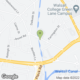 Map of CDI Document Management Ltd in Walsall, west midlands