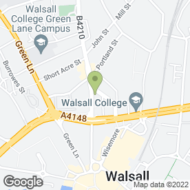 Map of Walker & Co in Walsall, west midlands