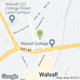Map of Enterprise Rent-A-Car in Walsall, west midlands