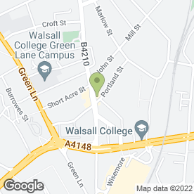 Map of RUSSELL CYCLES in Walsall, west midlands