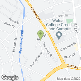 Map of Arrow Building & Maintenance in Walsall, west midlands