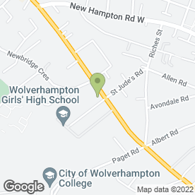 Map of Dr N Whitehouse in Wolverhampton, west midlands