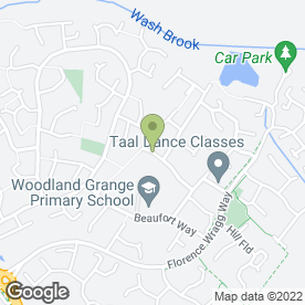Map of MB Driving School in Oadby, Leicester, leicestershire