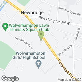 Map of Tweedale Ltd in Wolverhampton, west midlands