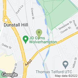 Map of Quick Food Products Ltd in Wolverhampton, west midlands