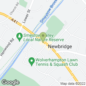 Map of Iridum Spa Ltd in Wolverhampton, west midlands