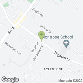 Map of Advanced Aerials in Aylestone, Leicester, leicestershire