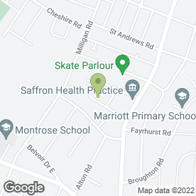 Map of Profile Motors in Leicester, leicestershire